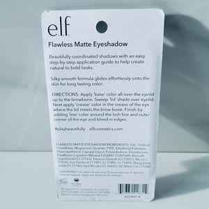 ELF Makeup - 💥5/$20 New ELF Natural Matte Flawless Eyeshadow